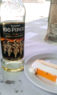 Tarta de whisky