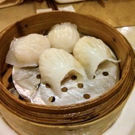 Dumplings de gambas