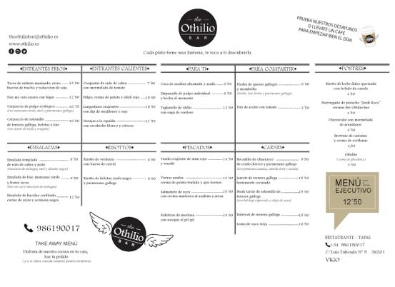 menu othilio